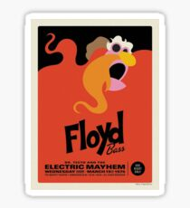 The Muppets - Floyd Sticker