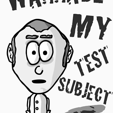 Wannabe my test subject? by jacksmirk