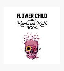 Rock&Roll Soul Photographic Print