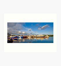 Killybegs Harbour Art Print