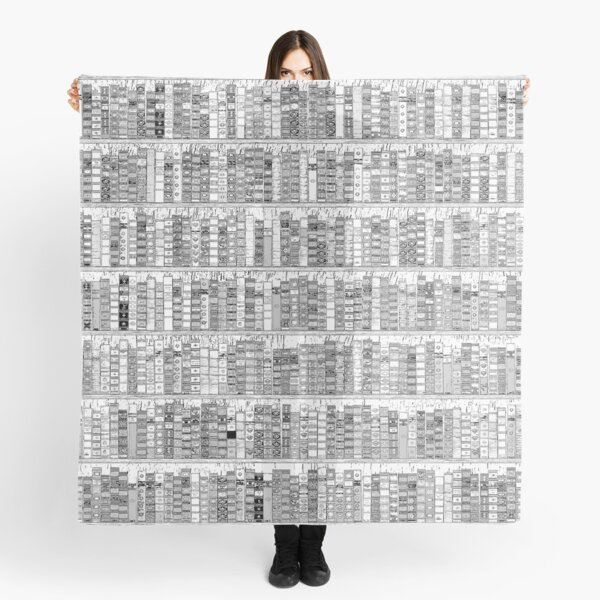 The Library II Scarf