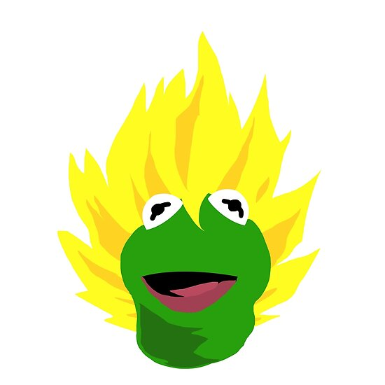 Saiyan Kermit by wammy117