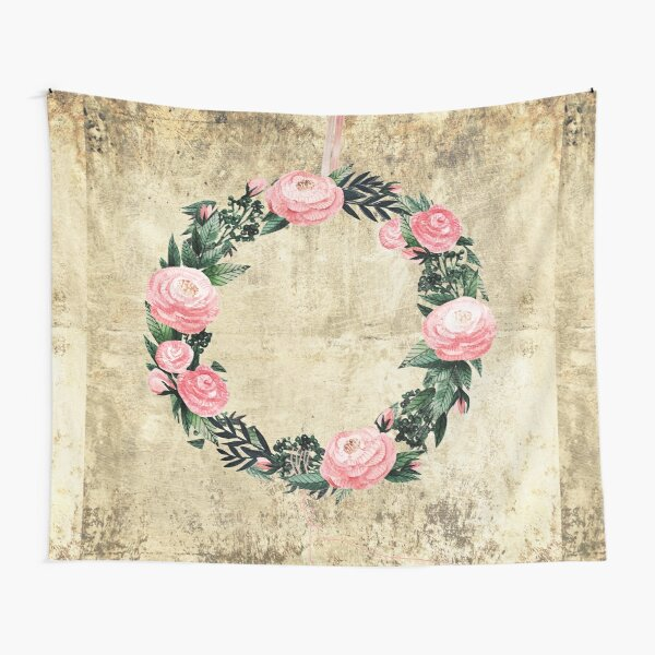 Wreath #Rose Flowers #Royal collection Tapestry