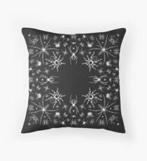 Spider Bandana Design Throw Pillow