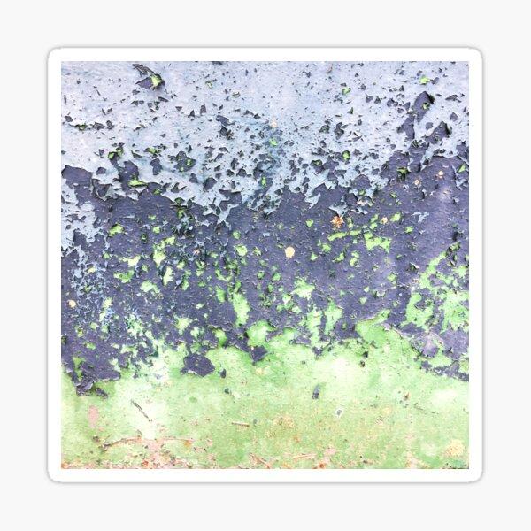 Wabi-Sabi rostiges Blatt Sticker
