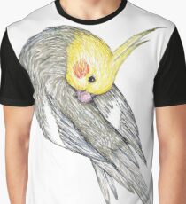 Preening cockatiel Graphic T-Shirt
