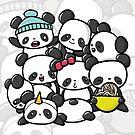 Panda Doodle by hornedhorses