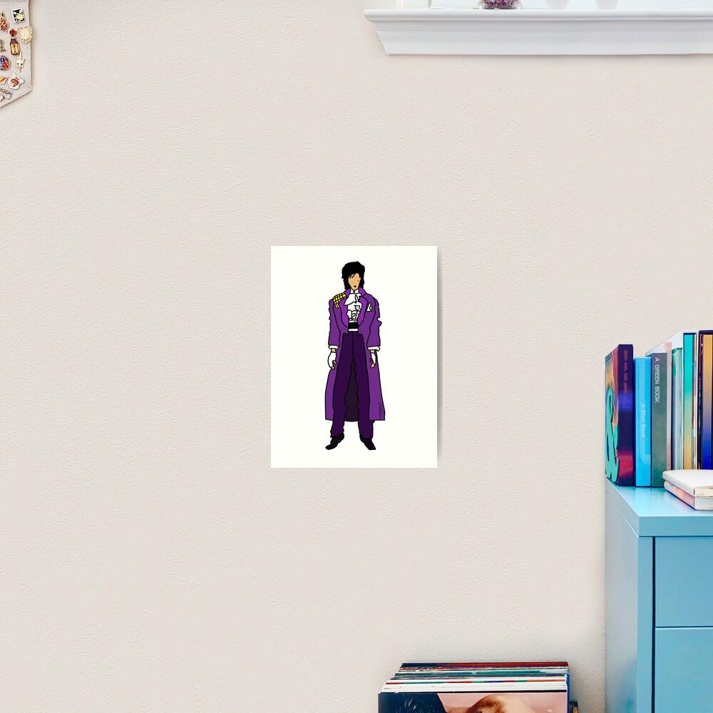 The Ultraviolet One - Single Art Print