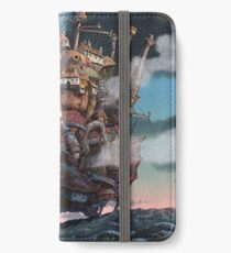 Howl's Moving Castle Landscape (Studio Ghibli anime) iPhone Wallet/Case/Skin