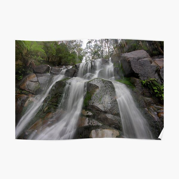 Toorongo Falls - a view from the base Poster