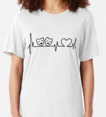 Theatre In Heartbeat Slim Fit T-Shirt