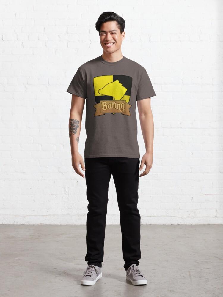 Alternate view of House Symbols - Boring Classic T-Shirt