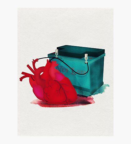 Jump start my heart Photographic Print