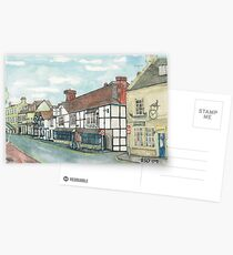 Winchcombe High Street/ The White Hart Postcards