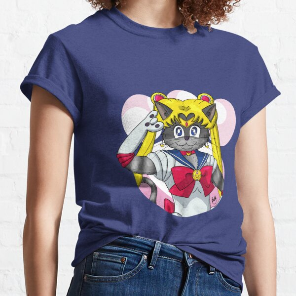 Sailor Cat T-shirt classique