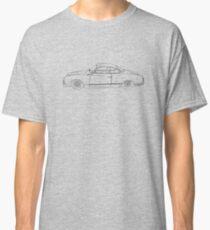 Wireframe Ghia (Black) Classic T-Shirt