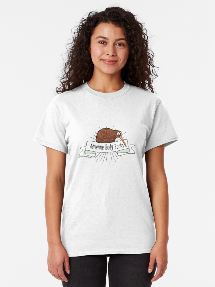 Alternate view of Adrienne Body Books - Kiwi Classic T-Shirt