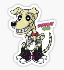 Saturday Grim - Herc Sticker