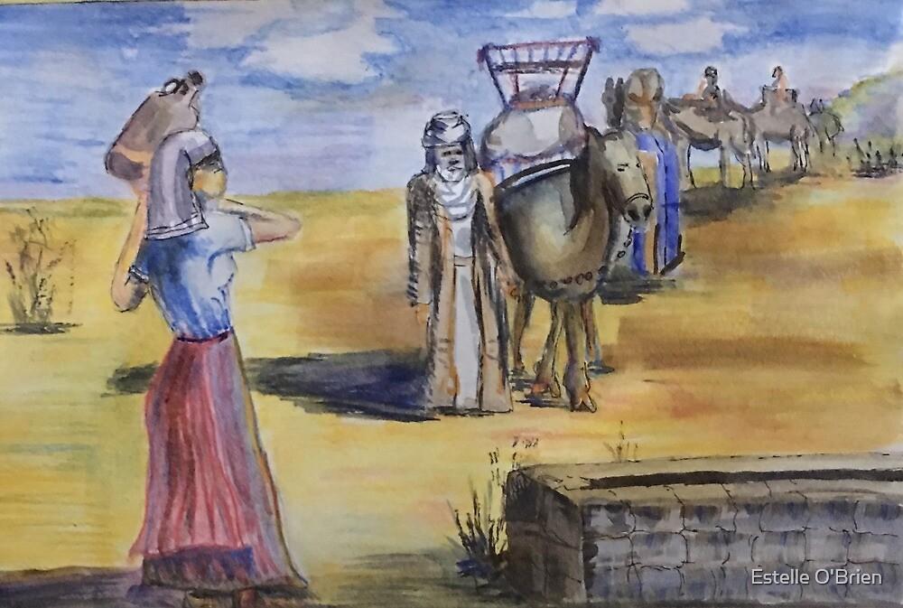 Rebekka am Brunnen von Estelle O'Brien