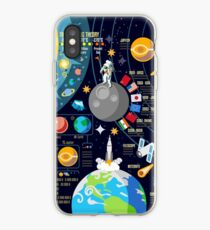 Space Universe Infographics Big Bang iPhone Case