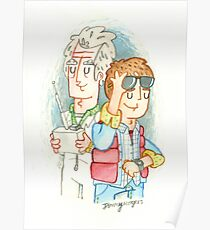 Doc & Marty Poster