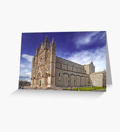 The Duomo of Orvieto  Greeting Card