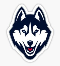 Connecticut Huskies Sticker