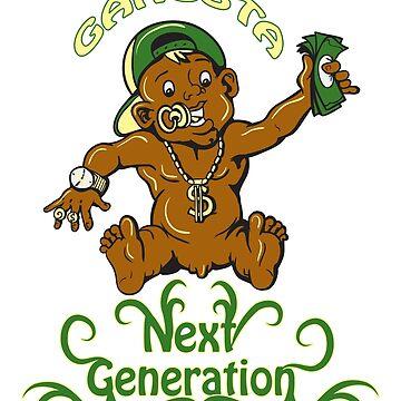 Gangsta Baby - Next Generation by hip-hop-art