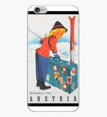 Vintage Travel Poster - Austria iPhone Case