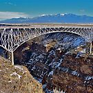 Bridging the Rio Grande by Nancy Richard
