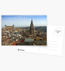 The Roofs of Toledo Postcards