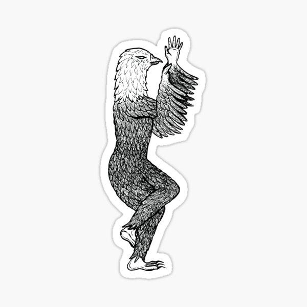 Eagle Pose / Garudasana Sticker