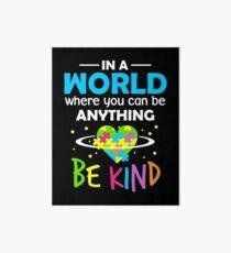 Be Kind Art Board