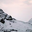3 climbers ANOCH eAG rIDGE by Alexander Mcrobbie-Munro