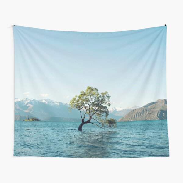 That tree in the middle of the lake Tapestry