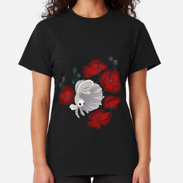 Bettas and Poppies Classic T-Shirt