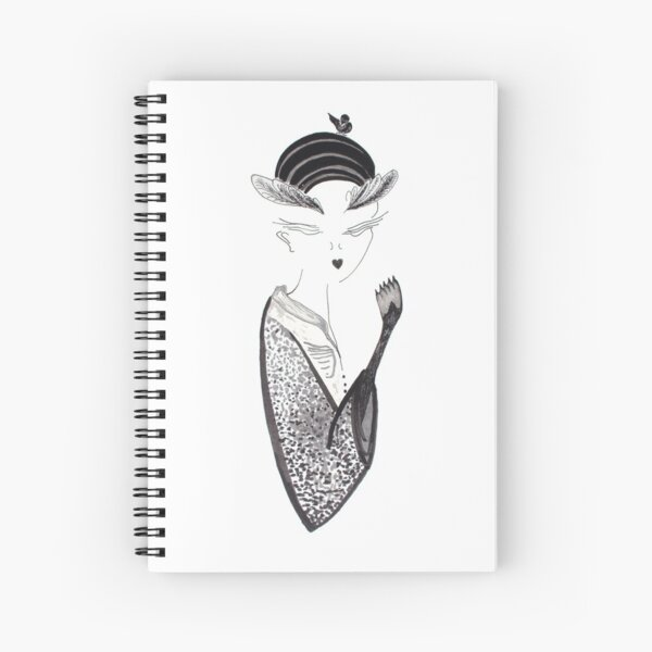 A Little Bird Told Me I'm Fantastic Spiral Notebook