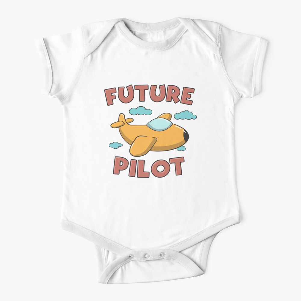 Future Pilot - Funny Aviation Quotes Gift Baby One-Piece