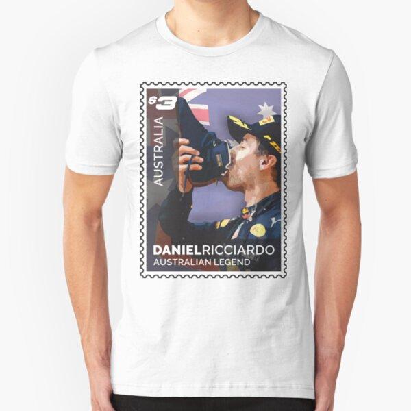 Lick the Stamp | Daniel Ricciardo | F1 Slim Fit T-Shirt