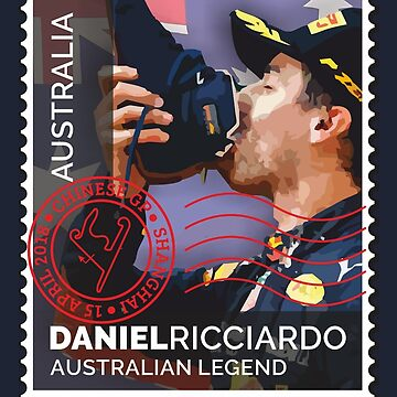 Lick the Stamp | Daniel Ricciardo | F1 by SpeedFreakTees