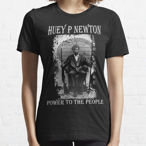 Huey P Newton All Power To The People Shirt Black Panther Party Protest Graphic Tee T-Shirt and Hoodie