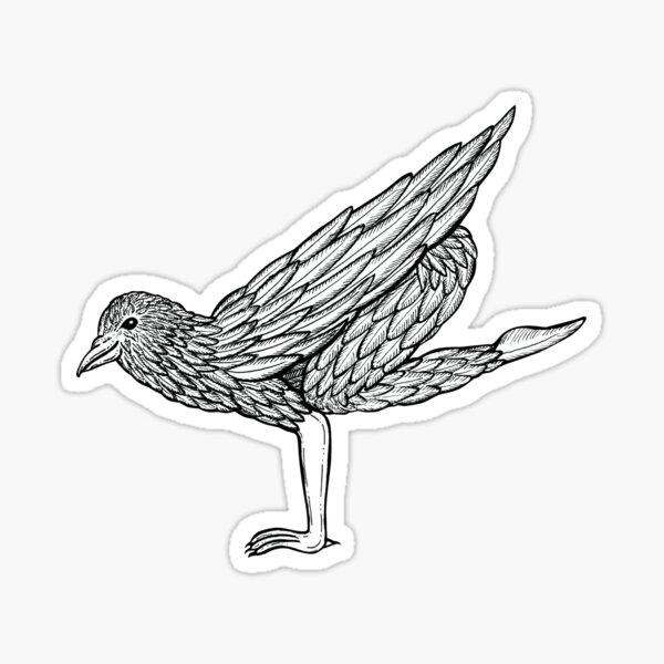 Crow Pose / Bakasana Sticker