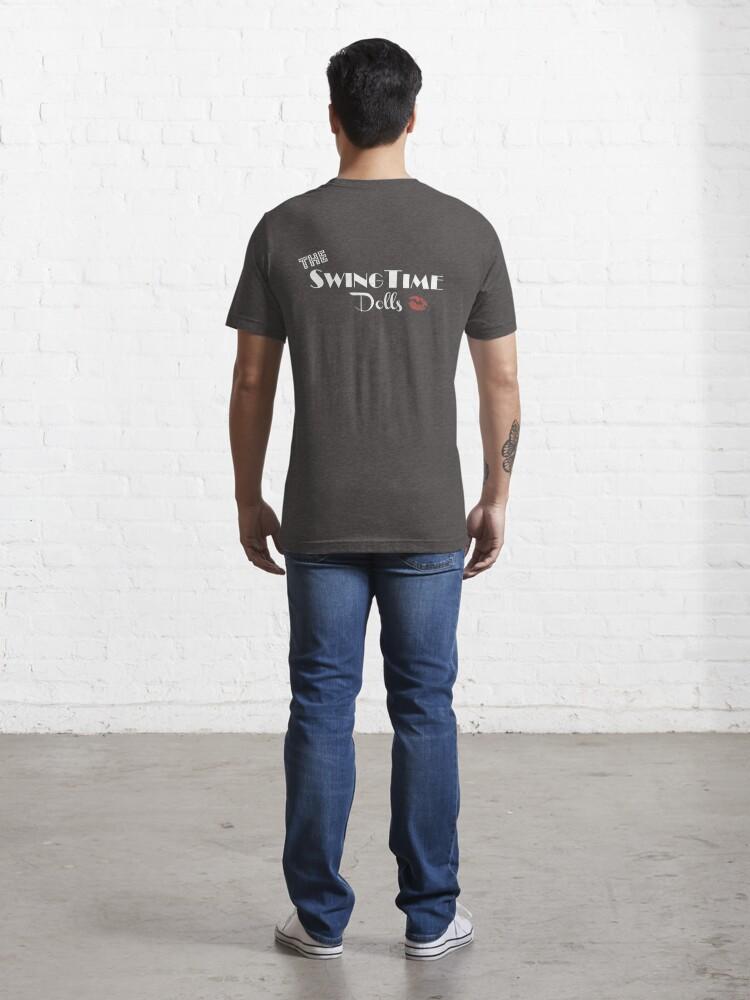 Alternate view of SwingTime Dolls Official Logo Essential T-Shirt
