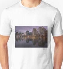 Cockle bay, Darling Harbour at dusk. Sydney, Australia. Unisex T-Shirt