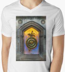 Corpus Christi Clock Men's V-Neck T-Shirt