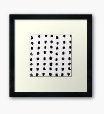 Ink Brush #3 Framed Print