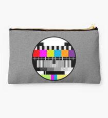 Television Color Test Studio Pouch