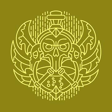 Rogue – Class Crest (color) by dcmjs