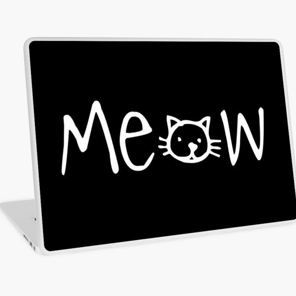 Meow Laptop Skin