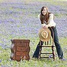 Blue Bonnet Joy by Olivia Plasencia